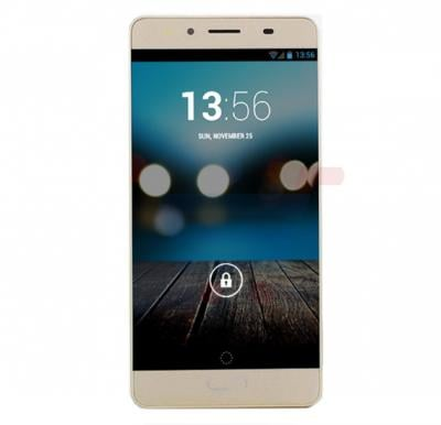 Enet E60 3G Smartphone, Android 5.1, 4.5 Inch Display,1GB RAM, 4GB Storage, Dual Camera, Dual Sim-Gold