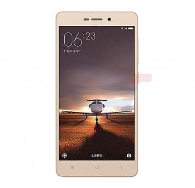 Xiaomi Redmi 3X 4G Smartphone,Fingerprint Sensor,5 Inch Display,2GB RAM,32GB Storage,Dual SIM,Dual Camera,WiFi,BT,FM,Quad-core 1.4 GHz Processor-Gold