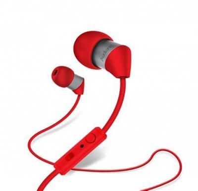 Audionic T-4 Wireless In-Ear Headphones, Red
