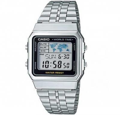 Casio Water Resistant Digital Watch, A500WA-1DF