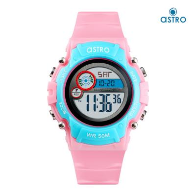 Astro Kids Digital Grey Dial Watch A9921-PPPBL, Size 35