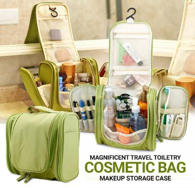 Magnificent Travel Toiletry Cosmetic Bag Makeup Storage Case Hanging organizer