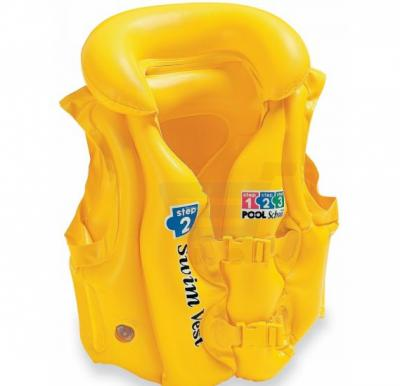 Intex Deluxe Pool Swim Vest Yellow - 58660