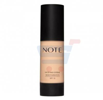 Note Mattifying Extreme Wear Foundation Pump-SPF15,04 Sand