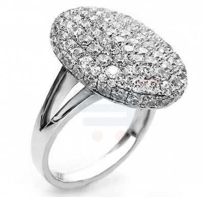 Twilight Saga Moon Austrian Crystal Metal Alloy Wedding Ring For Women