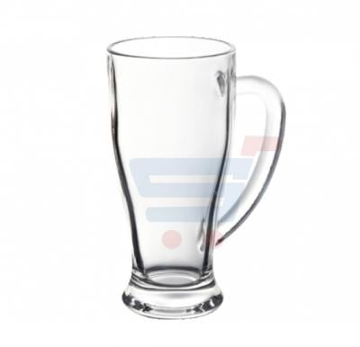 Royalford 2 Pcs Glass Cup With Handle 14 Oz - RF6783