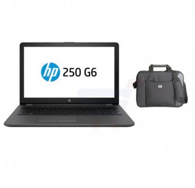 HP 250 G6 Laptop, Intel Celeron, 4GB RAM, 500GB HDD, 15.6 inch Display, DOS & Get Laptop Bag Free