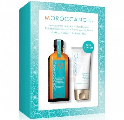 Moroccanoil Treatment Light 125ML 25% Extra Free With Free Moroccanoil Hand Cream 75ML