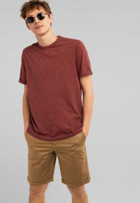 Springfield Fashion Mens T-Shirt, Color Maroon, Round Neck