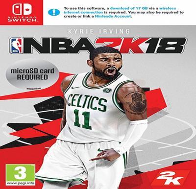 2K Games NBA 2K18 For Nintendo Switch