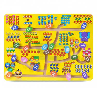 Brain Games Wooded Counting Maze Game
