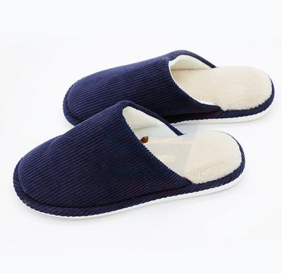 Faux Fur Winter Slipper Blue Color