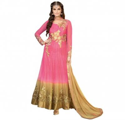 Fiona 12009 Georgette With Heavy Embroidery Designer Anarkali Dress