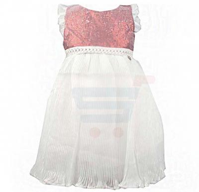 Amigo 7  Children Dress  Red White - 6-9M - 1309