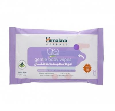 Himalaya Gentle Cleansing Baby Wipes 24s
