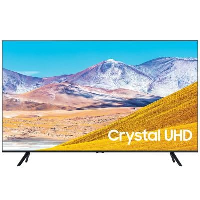 Samsung 75 Inch 4K UHD Smart LED TV UA75TU8000 Black