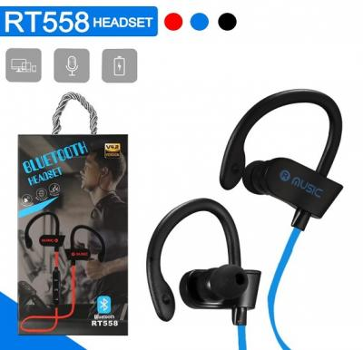 Wireless Sports Bluetooth Stereo Headset With Mic & Volume Control, RT558