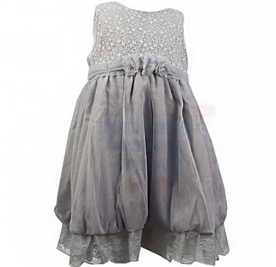 Amigo 7  Children Dress  Gray - 6-9M - 1279