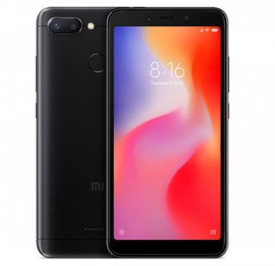 Xiaomi Redmi 6, Dual SIM, 32GB, 3GB RAM, 4G LTE, Black (Global Version)