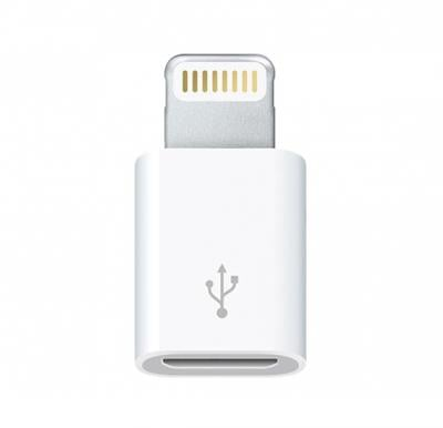 Micro to 8 Pin Lightning USB Converter for iPad, iPod, iPhone - All Apple Devices