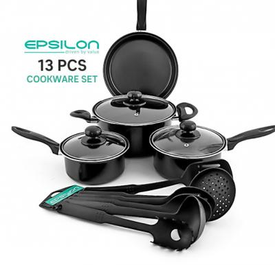 Epsilon 13 Pcs Cookware Sets, EN4142