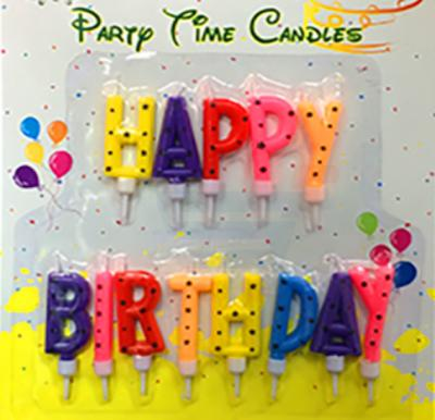 Party Time Alpha Candle HB G103-1