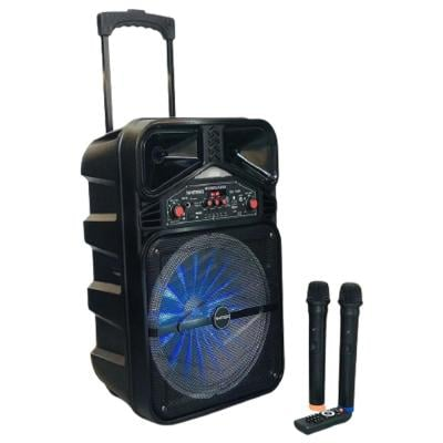 Kimiso Portable Party Speaker 2000W, QS-1209