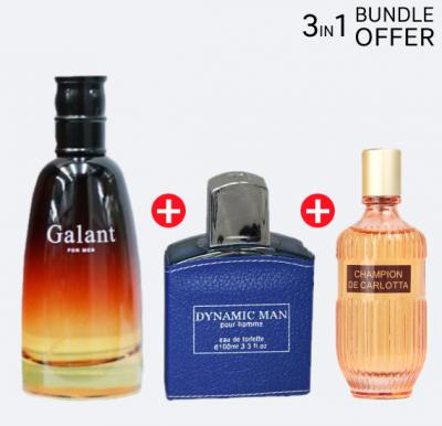 3 in 1 Nabil Perfume Special Offer Pack