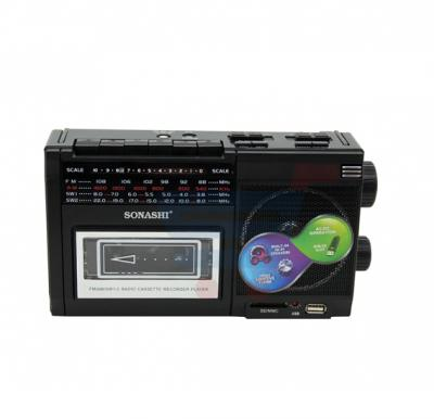 Sonashi Radio Casette Recorder with USB/SD Card Reader SNM-90US