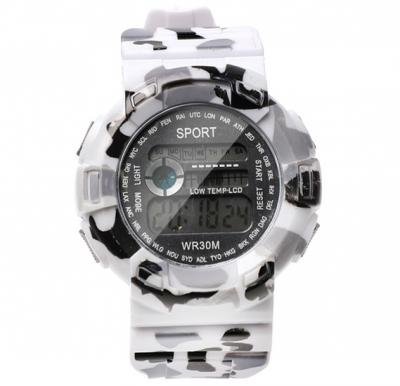 Digital Analogue Sport watch WR30M Grey,Alg004