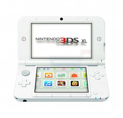 Nintendo 3DS XL - White