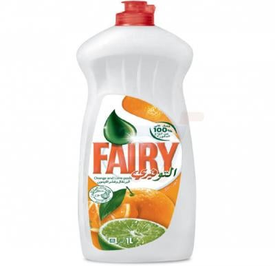 Fairy Dish Washing Liquid Orange and Lime Peel Soap 1L