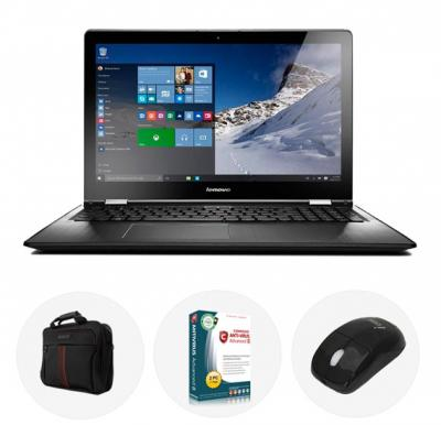 Bundle Offer! Lenovo ideapad 300 Laptop, Intel Celeron, 4GB RAM, 500GB HDD, 15.6in,  Dos and Get Comodo Antivirus + Mouse + Laptop Bag Free!