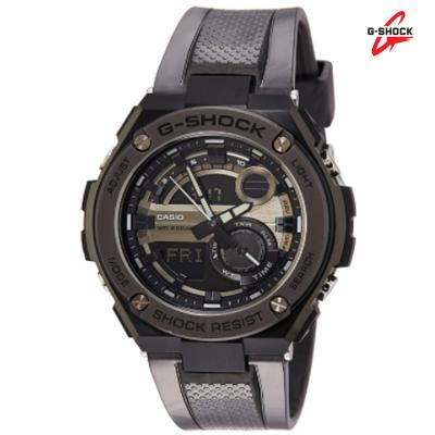G-Shock GST-210M-1ADR Analog Digital Watch For Men, Black