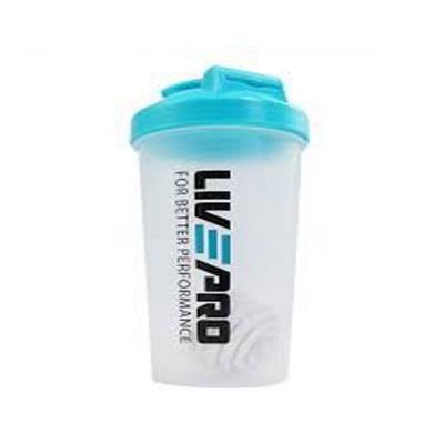 Liveup Shake Bottle 600ml LP8147, Blue