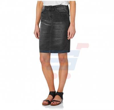 Denim Mini Skirt (Free Size) - Grey