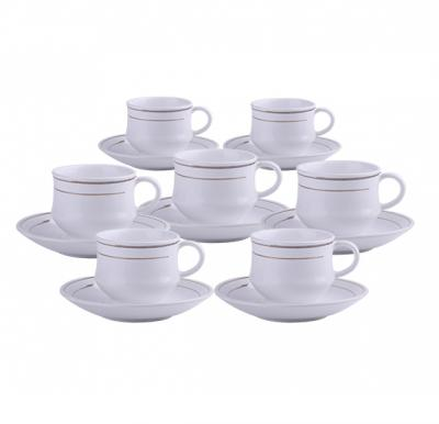 12 in 1 No.1 Fancy ware Cup And Saucer Set