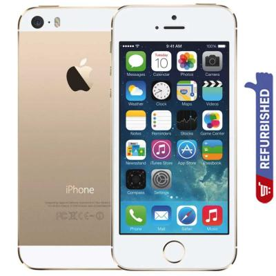 Apple iPhone 5S, 4G, 32GB Storage, iOS 7 - Gold Refurbished