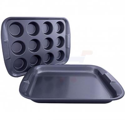 Prestige Twin Set 12 Cup Muffin & Oven Tray - PR57995
