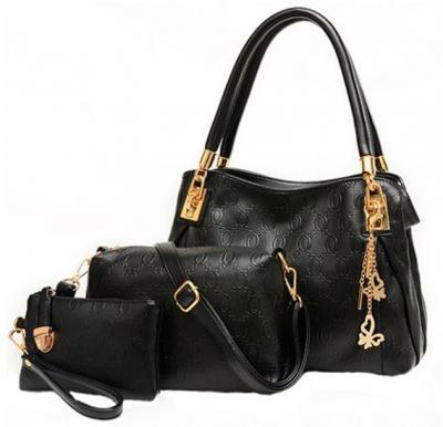 Generic womens Tot 3 pcs Bag Set Black
