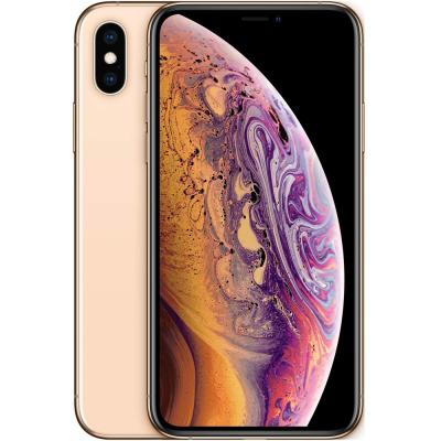 Apple iPhone Xs, 4GB RAM 256GB Storage, 4G LTE with FaceTime, Gold, Activated