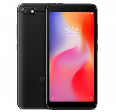 Xiaomi Redmi 6A, Dual SIM, 16GB, 2GB RAM, 4G LTE, Black (Global Version)