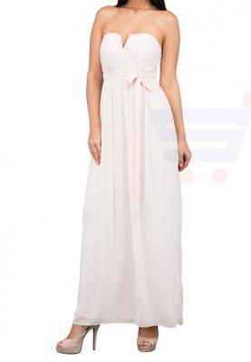 TFNC London Lama Maxi Evening Dress Nude - CTT 6363 - XXL