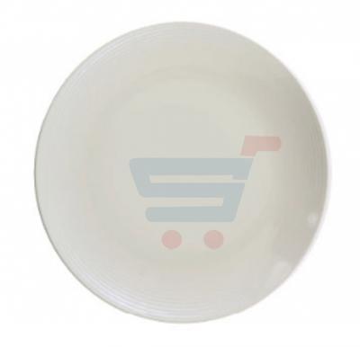 RoyalFord Melamine Ware 10 Deep Plate White - RF5841