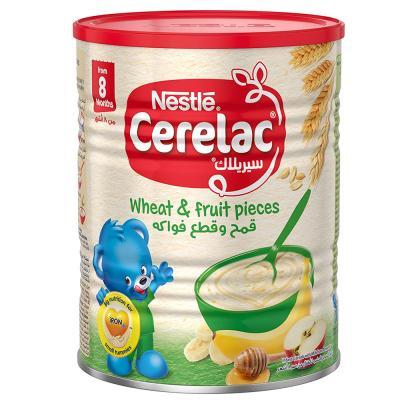 Cerelac Wheat & Fruit Pieces 400 gm
