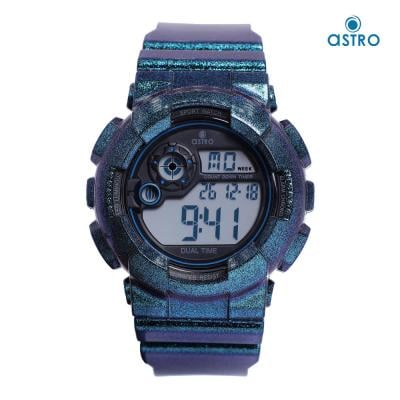 Astro Kids Digital Grey Dial Watch A21902-PPLB, Size 48