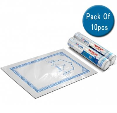 10 in 1 Hotpack Disposable Prayer Mat LD 60X115cm-50Pc