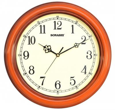 SONASHI SWC-805 WALL CLOCK 30.5cm-Wood Color