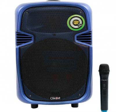 Clikon Portable Trolley Speaker 7200w - CK812
