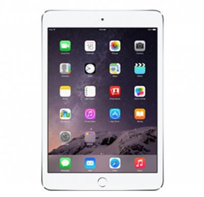 Apple iPad Mini 3, 4G, iOS 7,16 GB ,7.9-inch Retina Display,Wifi- Silver